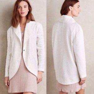 Anthropologie Lilka Heather Grey Cocoon Jacket
